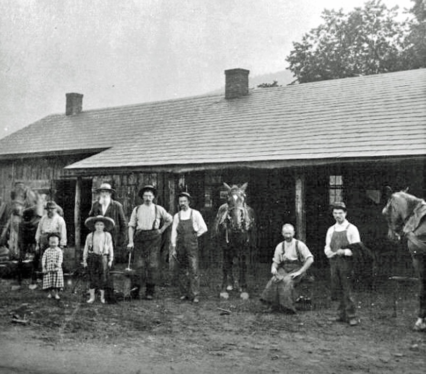 LITTLE'S BLACKSMITH SHOP 1888 LOYSBURG_edit